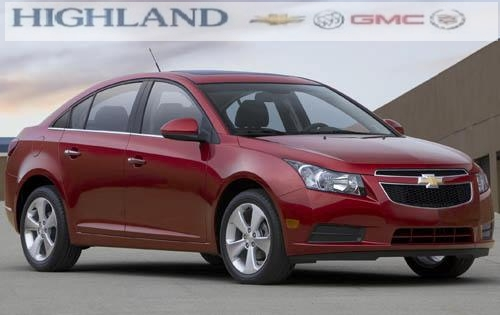 2012 Chevrolet Cruze LTZ Photo Image