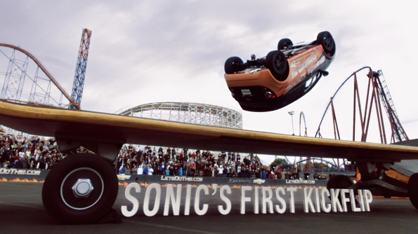 2012 Chevrolet Sonic Kickflip Photo