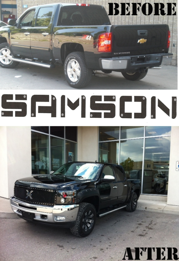 Highland's Custom Samson Edition Silverado
