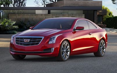 Cadillac Introduces Lightweight Luxury Compact Coupe – the 2015 ATS Coupe